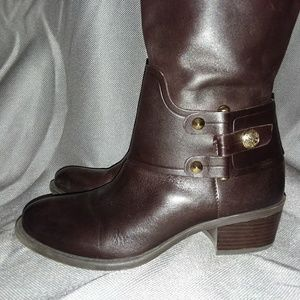 Brow leather VINCE CAMUTO Riding Boots Sz 7B